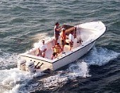 Florida Keys custom tarpon fishing boat